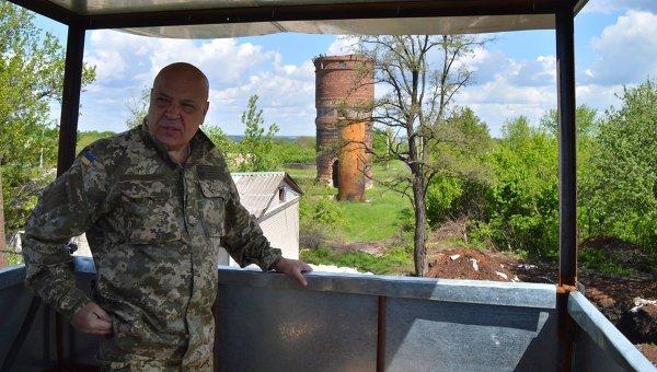 Геннадий Москаль в Луганской области. Архивное фото