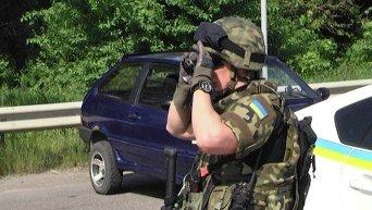 Операция по захвату преступника в Харьковской области
