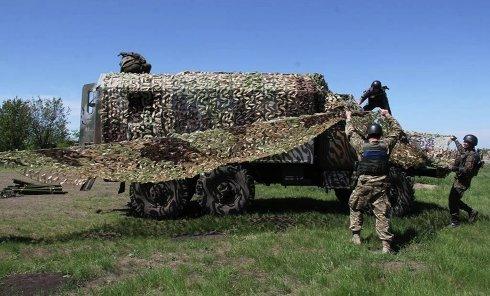 Военная техника на Донбассе. Архивное фото