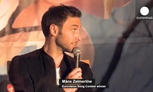 Триумф победителя Евровидения на родине. Видео