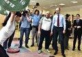 Яценюк в Конча-Заспе обсудил Олимпиаду и пообщался со спортсменами