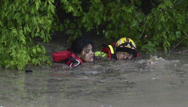 Наводнение в Техасе и Оклахоме