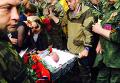Похороны командира бригады Призрак самопровозглашенной Луганской народной республики Алексея Мозгового