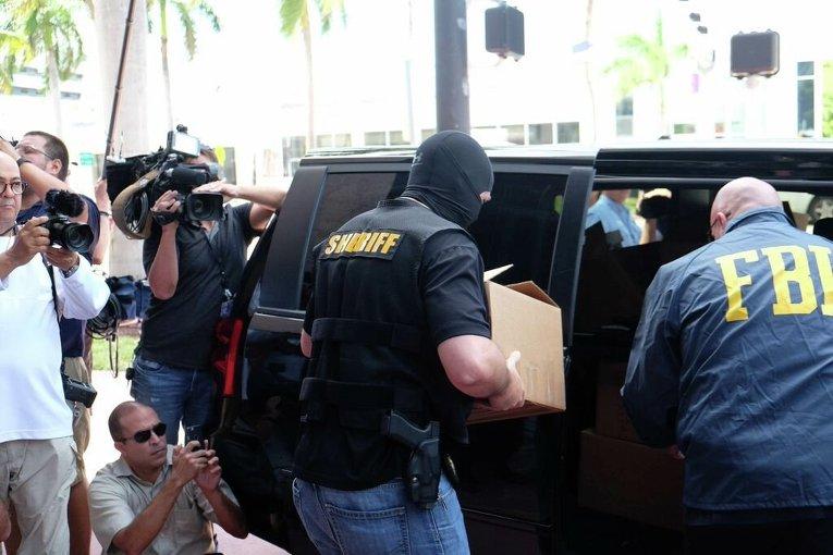 Обыски в штаб-квартире Конфедерации футбола Северной и Центральной Америки и стран Карибского бассейна (КОНКАКАФ) в Майами