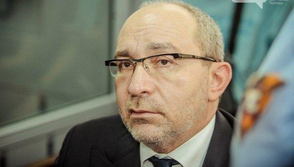 Геннадий Кернес на заседании суда в Полтаве
