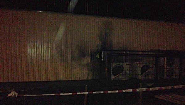 Взрыв в магазине Roshen