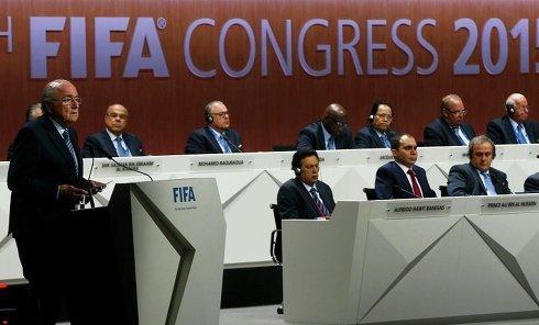 Йозеф Блаттер на конгрессе ФИФА в Цюрихе