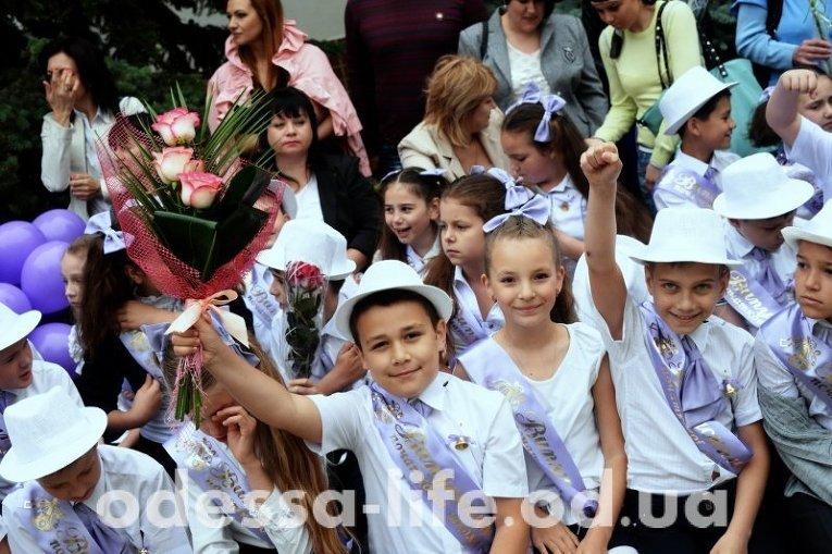 Праздник последнего звонка в Одессе