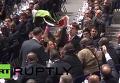 Женщины с флагом Палестины прервали работу конгресса ФИФА. Видео