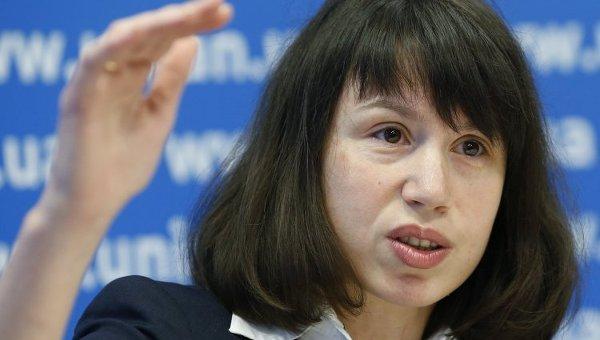 Татьяна Чорновол. Архивное фото