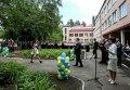 Петр Порошенко на празднике последнего звонка в Славянске