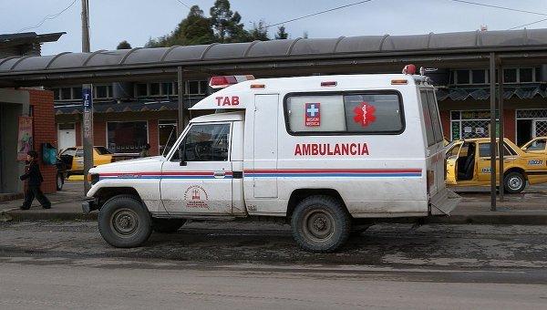 Скорая в Колумбии