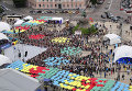Празднование Дня Киева на Софийской площади