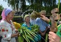 Празднование Троицы в Пирогово