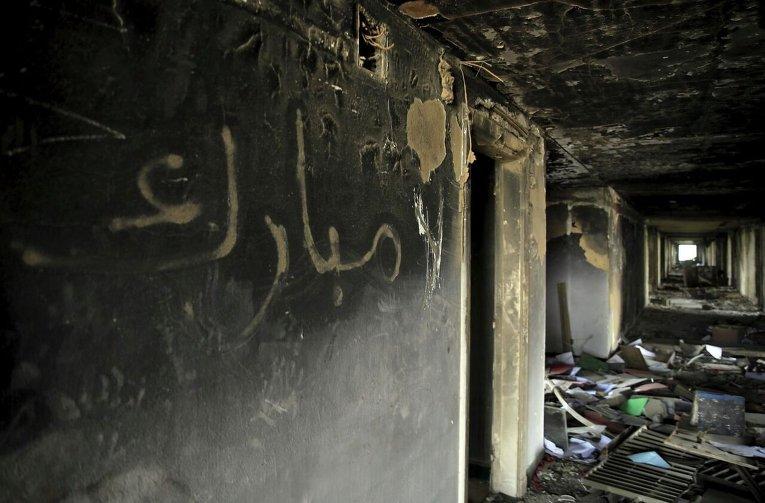 В Египте начался демонтаж штаб-квартиры бывшего президента Мубарака