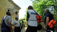 Представители ОБСЕ в Донецке