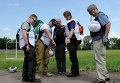 Представители ОБСЕ в Донецке. Архивное фото