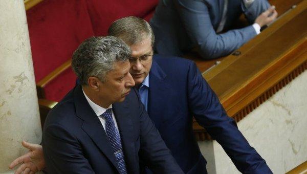Александр Вилкул и Юрий Бойко