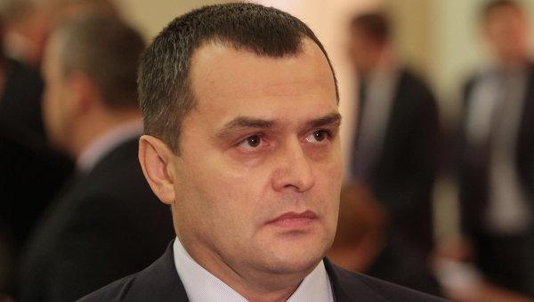 Экс-глава МВД Виталий Захарченко