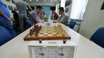 Товарищеская встреча по шахматам между сборными командами Национального союза журналистов Украины и Ассоциации народных депутатов Украины