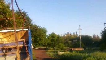 Перестрелка в Марьинке утром в среду. Видео