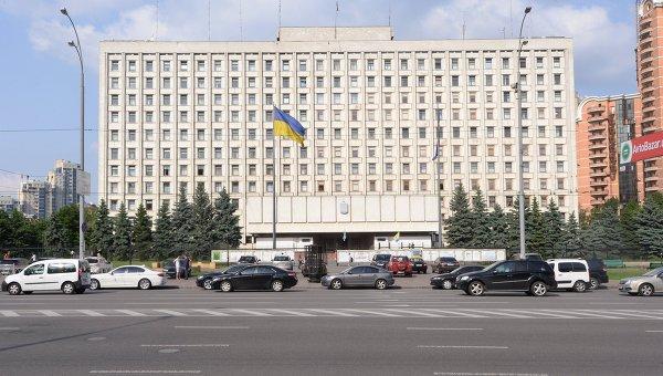 Здание ЦИК Украины в Киеве. Архивное фото