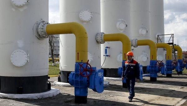 Газораспределительная станция в Украине. Архивное фото