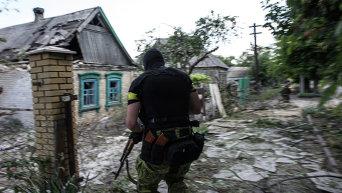 Батальон Киев-1 в Марьинке