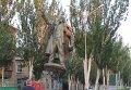 Демонтаж памятника Владимиру Ленину в Мелитополе