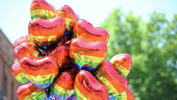 Гей парад. Архивное фото