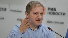 Экс-руководитель информационного департамента МИД Украины Олег Волошин