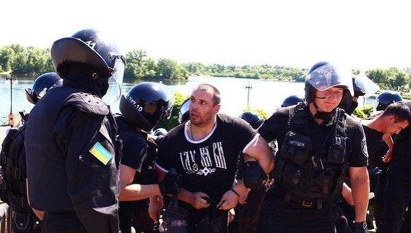 Задержание на Марше равенства в Киеве