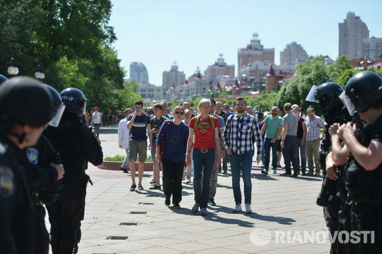 Марш Равенства в Киеве