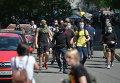 Неизвестные пришли на гей-марш в Киеве. Архивное фото