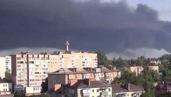 Небо над Васильковом чёрное. Видео