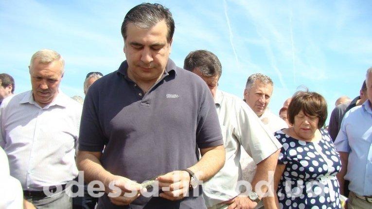 Саакашвили совершил первый выезд по области