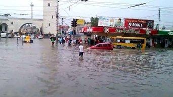 Потоп Симферополе. Видео