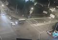 Тройное ДТП с участием военных в Мариуполе. Видео