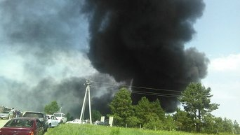 Пожар на нефтебазе, последствия для экологии критические