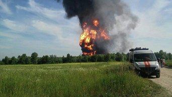 Из-за пожара на нефтебазе экологическая ситуация в области - критическая