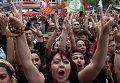 Митинг сторонников курдов в Анкаре. Архивное фото