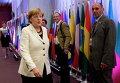 Канцлер Германии Ангела Меркель прибывает на саммит в Брюсселе