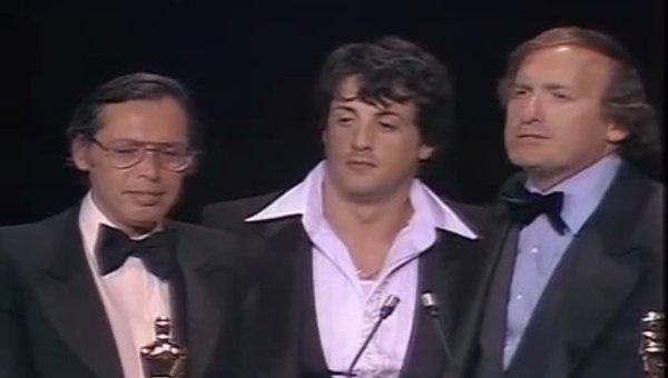 Роберт Чартофф (справа) на вручении Оскара в 1977 году