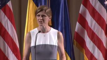 Выступление посла США при ООН Саманты Пауэр в Киеве. Прямая трансляция