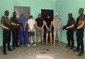 Задержанные после резни в Харькове