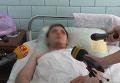 Комментарий пострадавшего в поножовщине  в Харькове