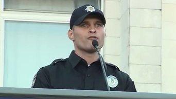 Эка Згуладзе представила нового руководителя патрульной службы Киева. Видео