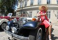 Фестиваль ретро-автомобилей Leopolis Grand Prix 2015 во Львове