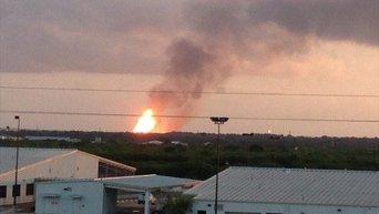 Взрыв газопровода в Техасе