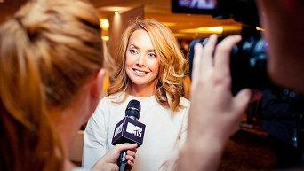 Жанна Фриске дает интервью каналу MTV